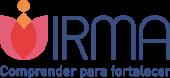 Logo blanco de Grupo Irma, comprender para fortalecer